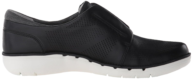 CLARKS Women's UN Voltra Walking Shoe B011VI44VA 5.5 B(M) US|Black Leather