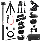 KIWI design Accessories for DJI Osmo Pocket, Expansion Kit Accessory Bundle with Mounts Strap Clip Phone Bracket Holder…