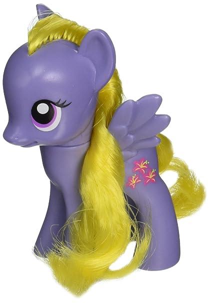amazon com my little pony purple lily bloom single pony toys games