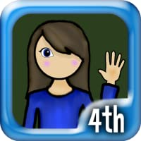 4th Grade Math Genius (for Kindle, tablet & phone)
