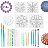 LOCOLO 16 PCS Mandala Dotting Stencils Template-Different