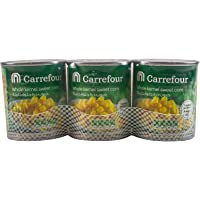 M Carrefour Corn Sweet Kernel Corn - 180x3 Gm