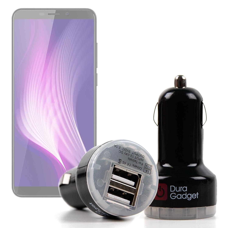 DURAGADGET Cargador Mechero del Coche para Smartphone ...