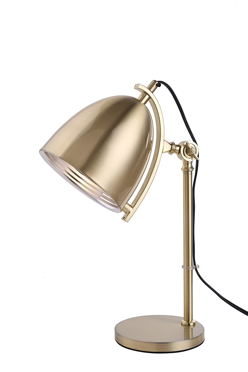 Pangea Home HOLLY-TL GOLD Holly Table Lamp Gold Finishgold