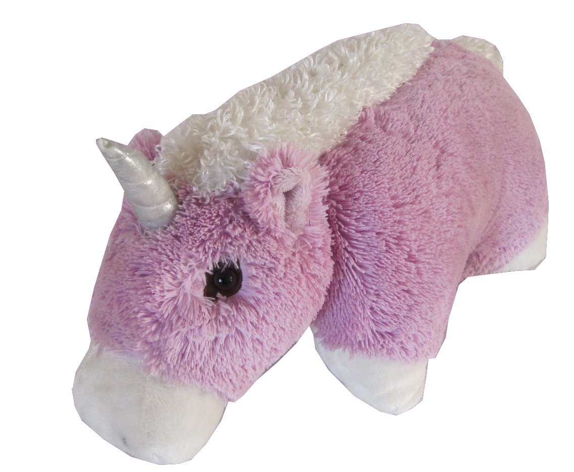 Unicorn Zoopurr Pets 2-in-1 Stuffed Animal and Pillow Large 19''