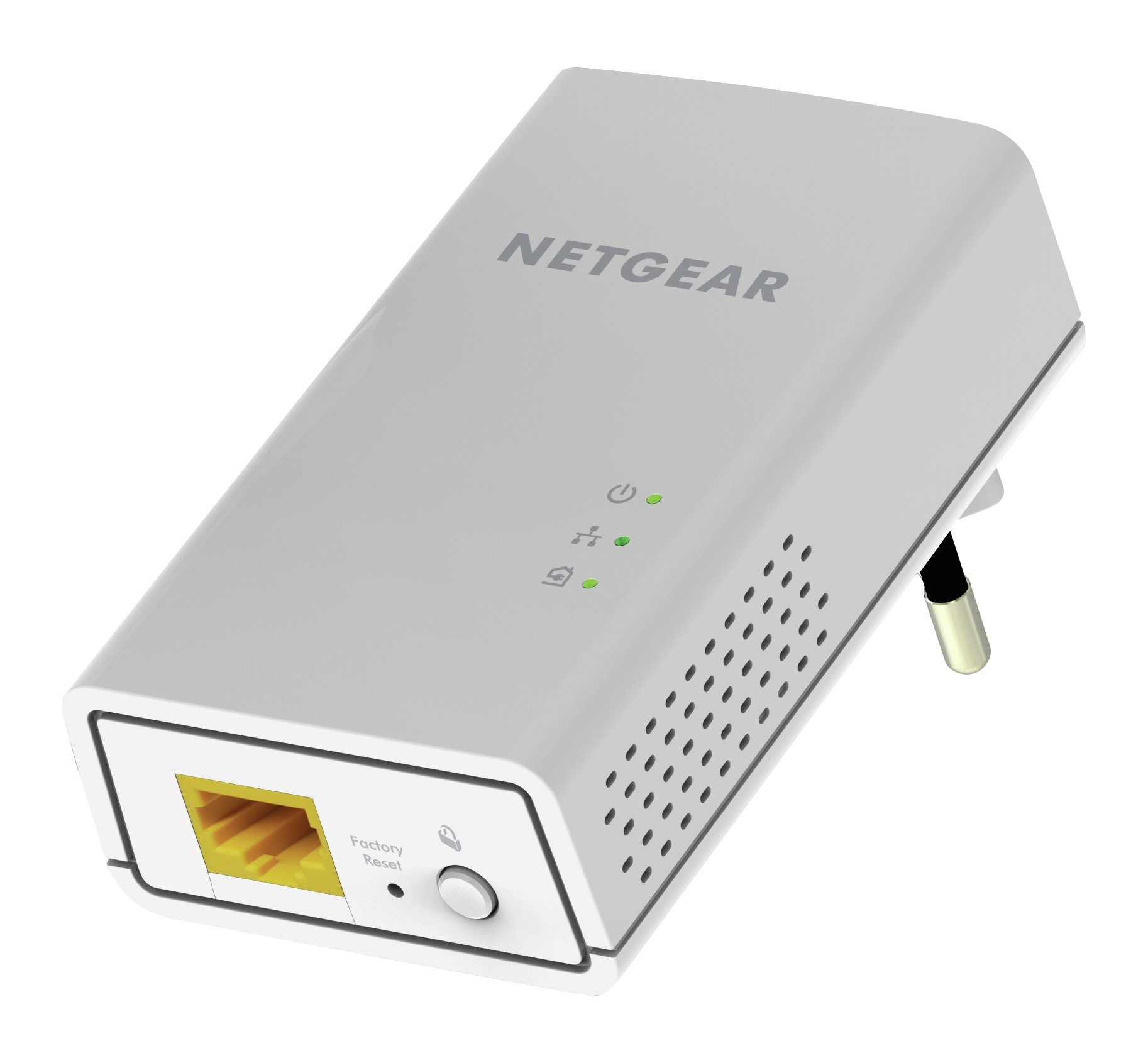 NETGEAR Powerline 1000 Mbps, 1 Gigabit Port (PL1000-100PAS)