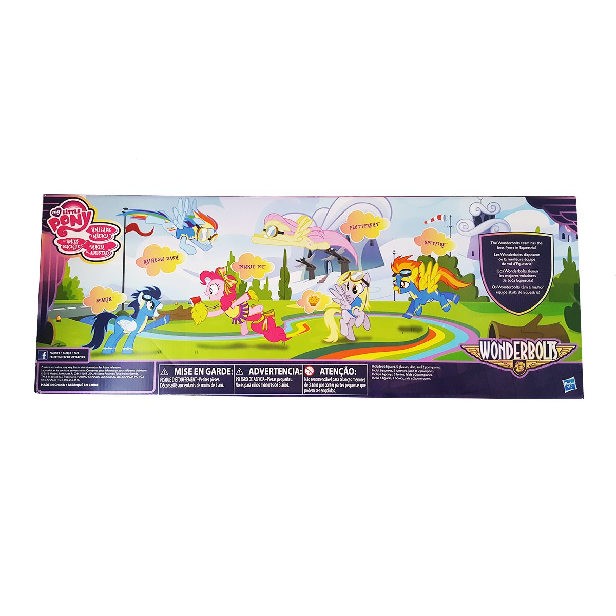 Amazon.es: My little pony exclusive Wonderbolts 6 figure ...