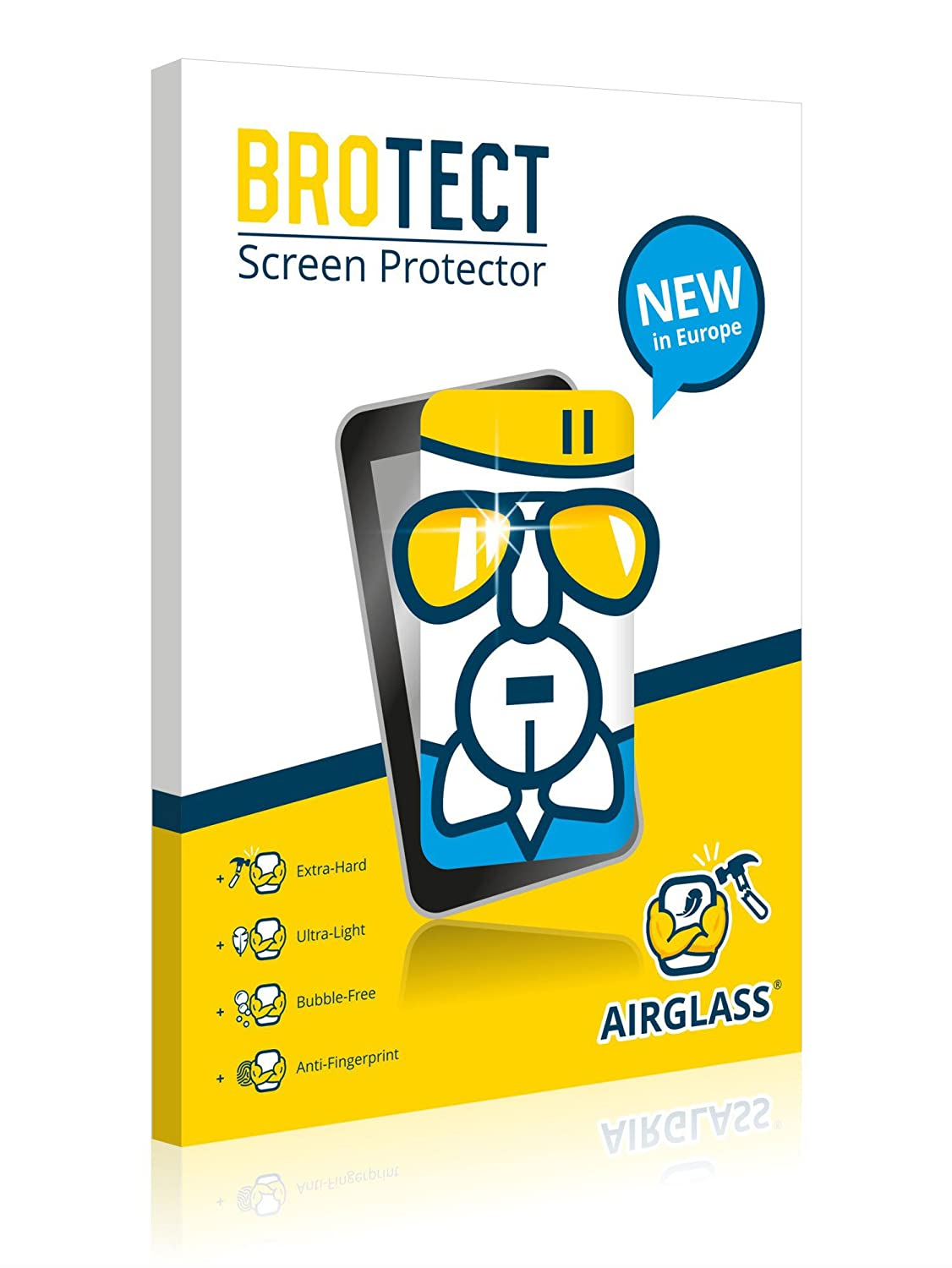 BROTECT AirGlass Screen Protector Glass compatible with HP Stream 11-9H