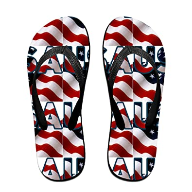 275290e5a71f4 American Flag Background Texture Cool Design For Children And Adults Men  And Women Print Pattern Sandals Beach Sandals Pool Party Slippers   Amazon.co.uk  ...