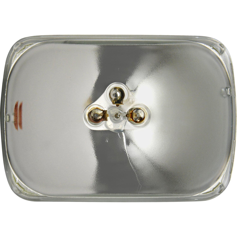 SYLVANIA H6054 Basic Halogen Sealed Beam Headlight 142x200, (Contains on
