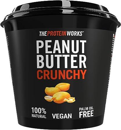 The Protein Works Mantequilla de Cacahuete, Super Crujiente - 1 kg