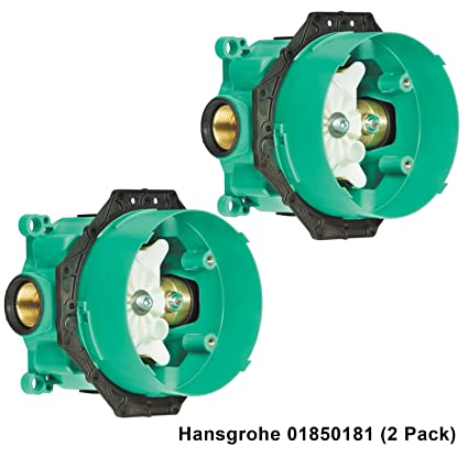 Hansgrohe 01850181 3/4-Inch iBox with Service Stop 2 Pack - - Amazon.com