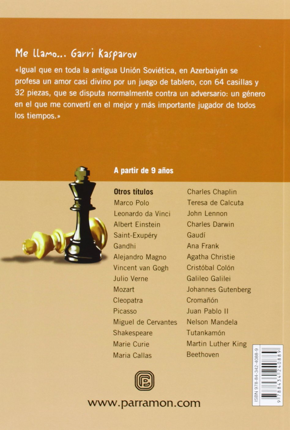 Me llamo ... Garri Kasparov: Amazon.es: Margarido, Manuel, Alves ...