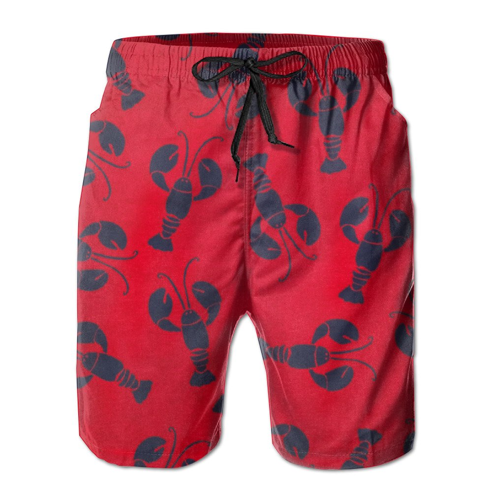HZamora/_H Mens Compass Design Summer Breathable Quick-Drying Swim Trunks Beach Shorts Board Shorts