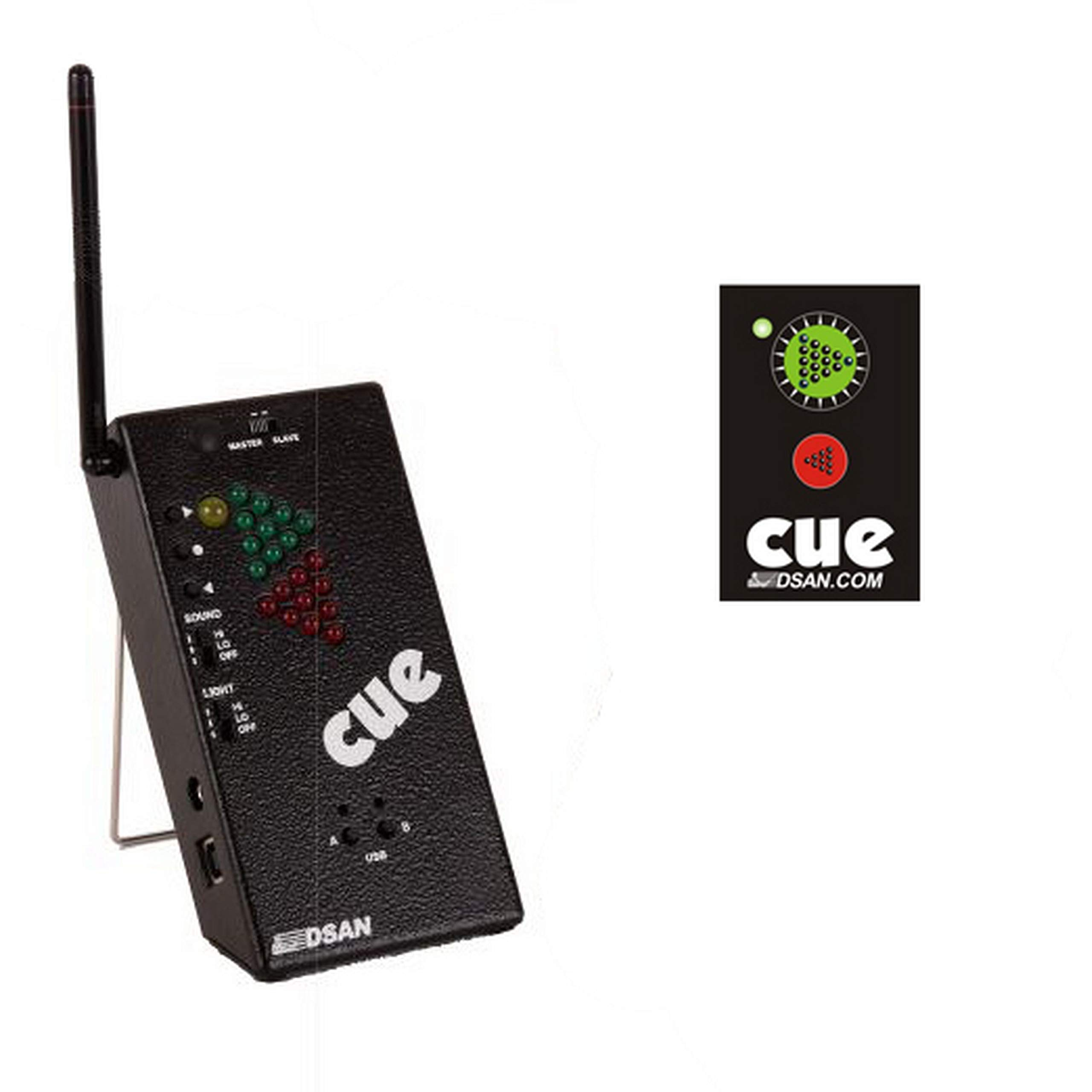 DSAN PC-433-Mini PerfectCue Mini USB Powered Cue Light System with 2-Command Button Remote by DSAN (Image #1)
