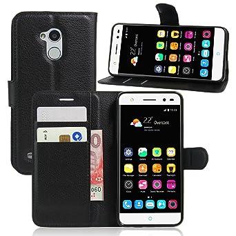 Amazon.com: ZTE Blade V7 LITE Wallet Case, Premium PU ...