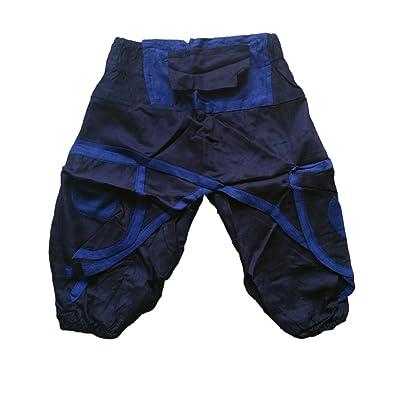 à la mode Retour Smocks Taille 2 poches latérales Dhoti Style Rayonne Gamins Pantalon