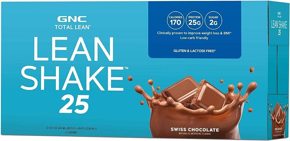 gnc lean shake 25 fogyás eredmény