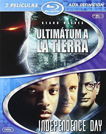 Ultimatum A La Tierra/Independence Day - Bd Duo Blu-ray: Amazon.es ...
