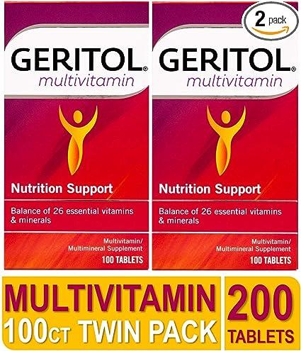 Geritol vitaminas para hombres