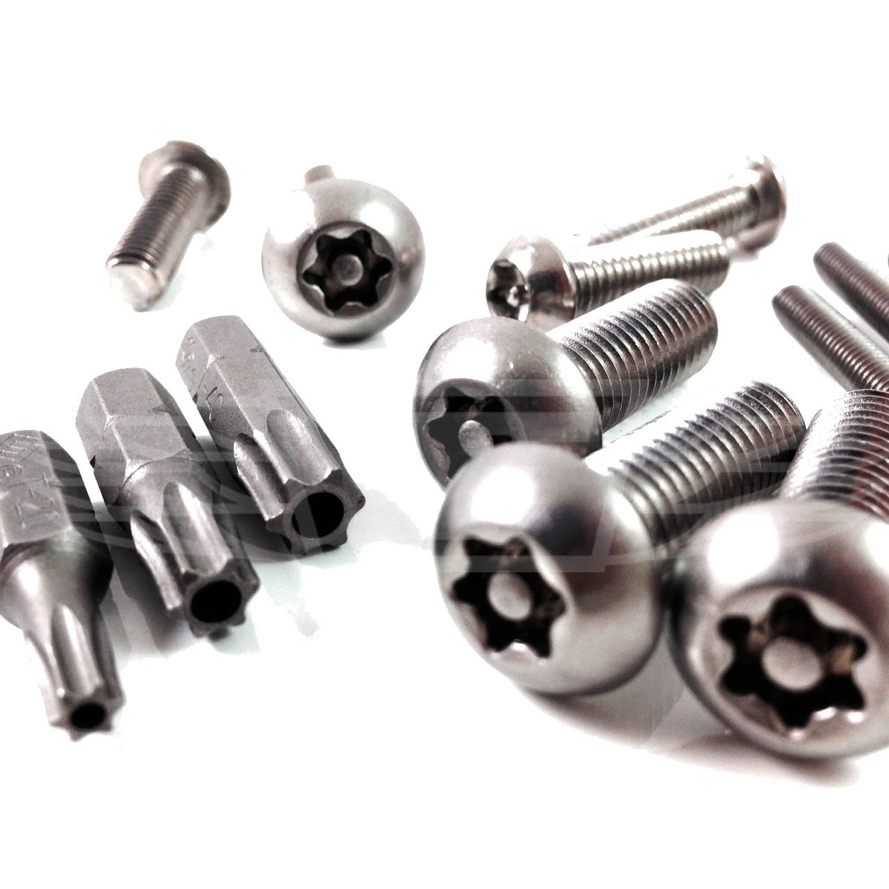M6 A2 Button Head Torx Security Machine Screw Bolt Screws Stainless Steel