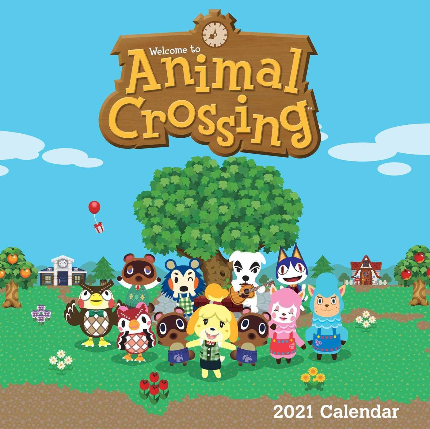 Animal Crossing 2021 Wall Calendar: Nintendo: 9781419754623