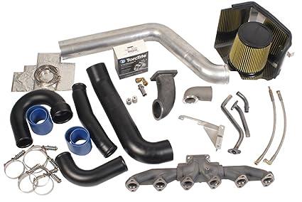 BD Diesel 1045520 Twin Turbo Piping And Plumbing Kit
