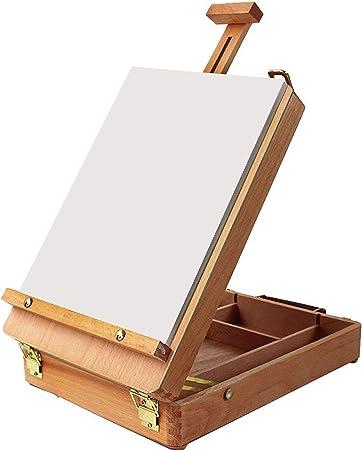 schizzi Cavalletto cavalletto da scrivania piccolo in legno espositore per tavola pittura
