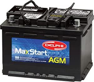 Delphi BU9048 MaxStart AGM Premium Automotive Battery, Group Size 48