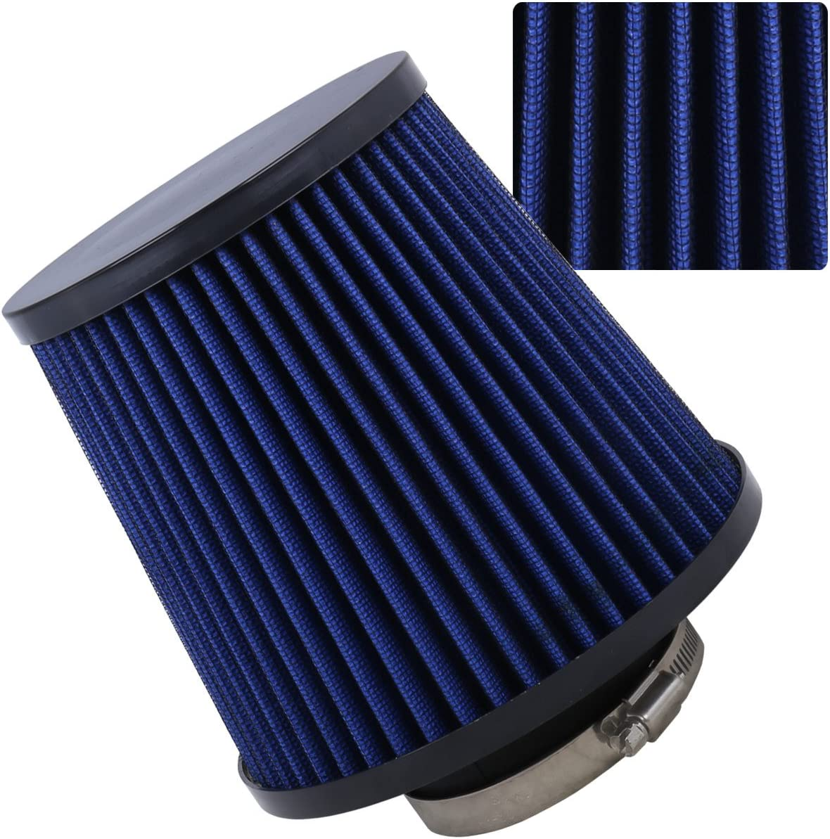 "RED 1999 UNIVERSAL 152mm 6/"" INCHES DIAMETER TRUCK DRY AIR INTAKE FILTER"