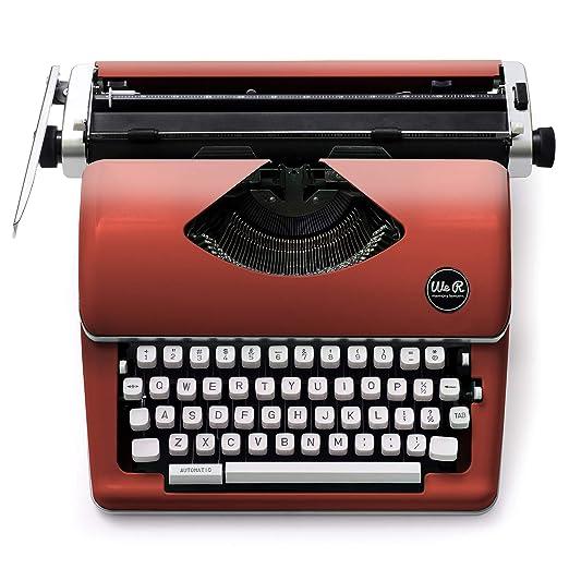 We R Memory Keepers Máquina de Escribir Typecast Typewriter Roja: Amazon.es: Hogar