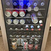 Amazon.com: EdgeStar 103 lata y 5 botellas enfriador de ...