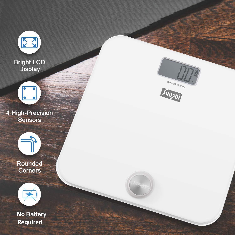 Sansui Battery-Free Bathroom Scale