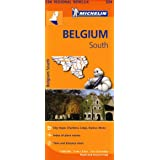 Belgium South Regional Map 534 (Michelin Regional Maps)