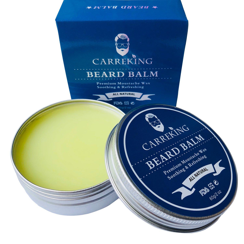 Beard Balm for Men, Carreking Premium Beard Butter, Beard Wax, Best Styling Softener Growth Cream Moisturizer Cologne Beard Mustache Wax (Cologne)