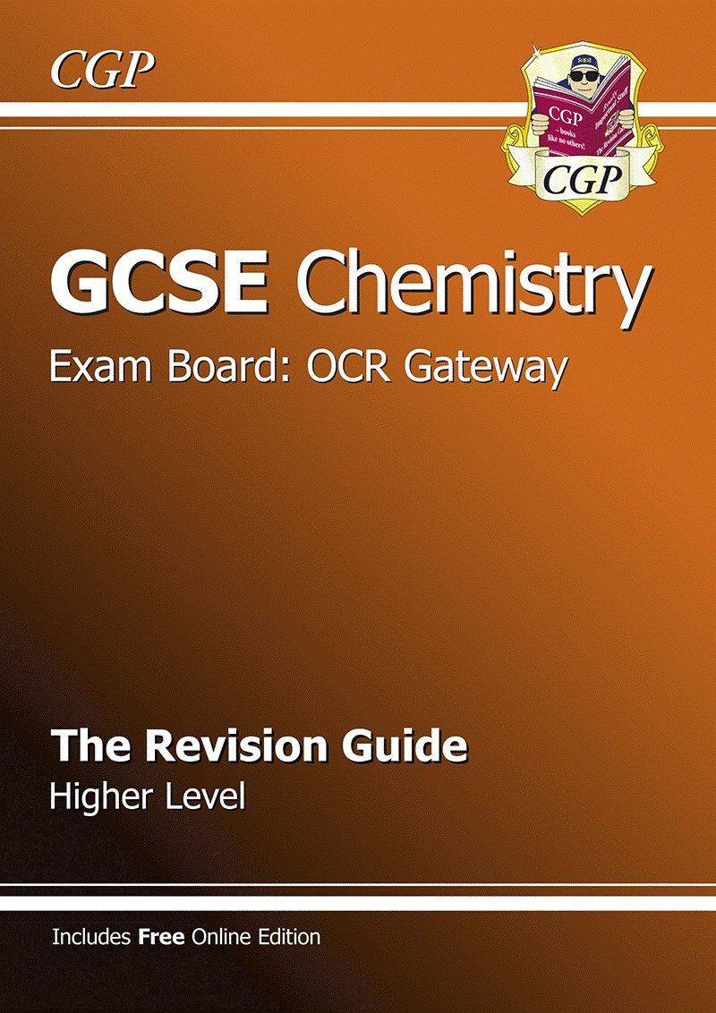GCSE Chemistry OCR Gateway Revision Guide (with online edition) (A*-G  course): Amazon.co.uk: CGP Books: 9781847626219: Books