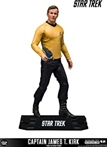 McFarlane Toys Star Trek Captain James T. Kirk Collectible Action Figure
