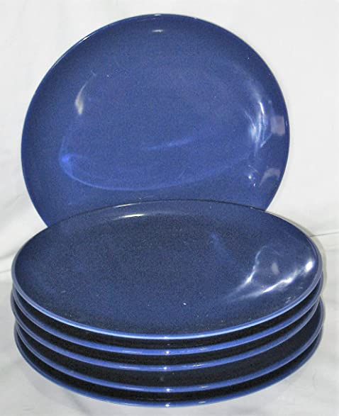 Ikea of Sweden Pottery Blue 10 Inch Dinner Plates Set Of 6 & Amazon.com   Ikea of Sweden Pottery Blue 10 Inch Dinner Plates Set ...