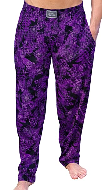 Crazee Wear Workout Purple Rain Baggy Pants: Amazon ca