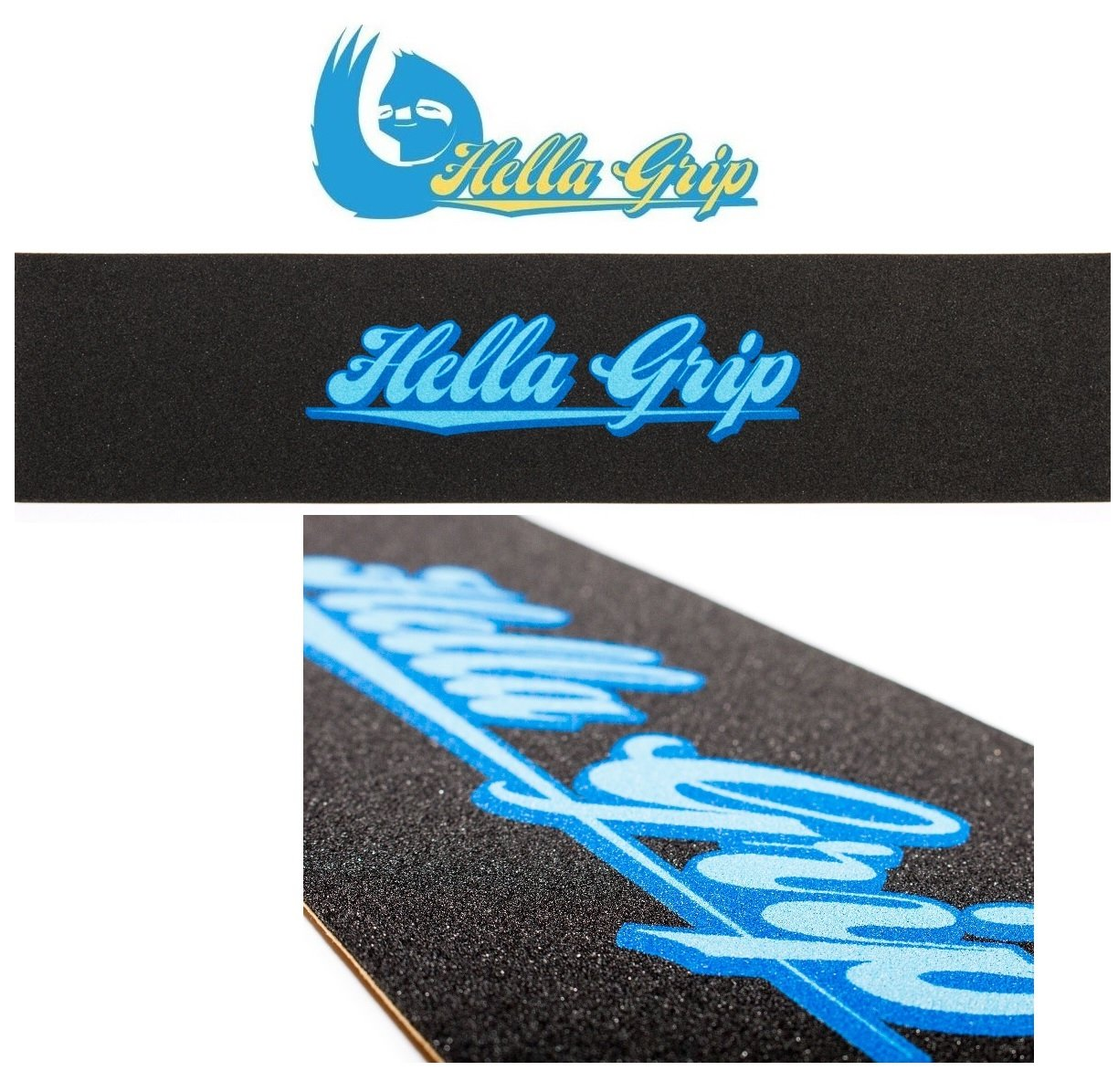 Hella Patinete de Grip Tape Classic 558/ mm x 127/ mm Blue IceBox