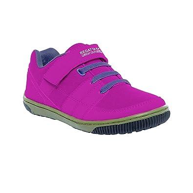 Regatta Girls Baseline Low Junior Walking Shoes Pink RKF416 CNMUYWi