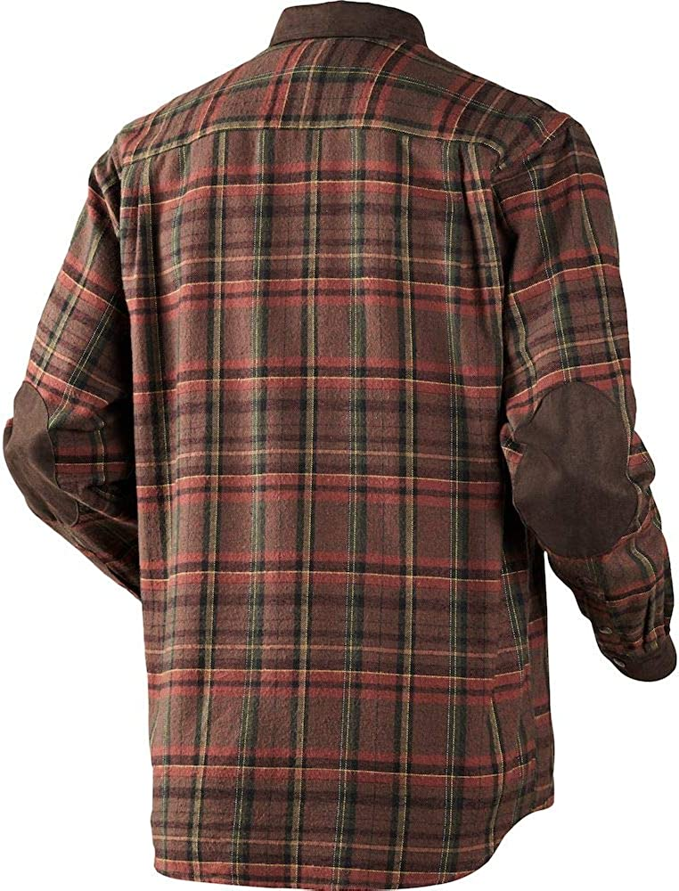 Harkila Pajala Shirt Red Check XXX-Large Red