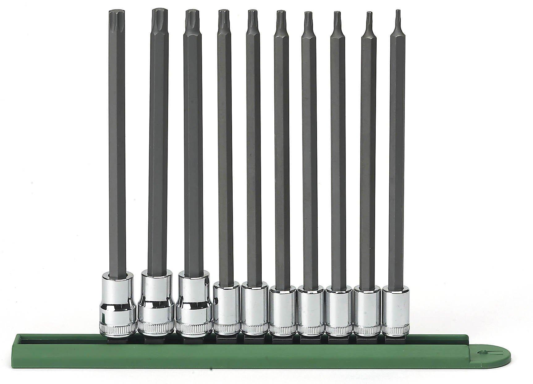 GearWrench 80588 10 Piece Long Torx Set (T8-T50)