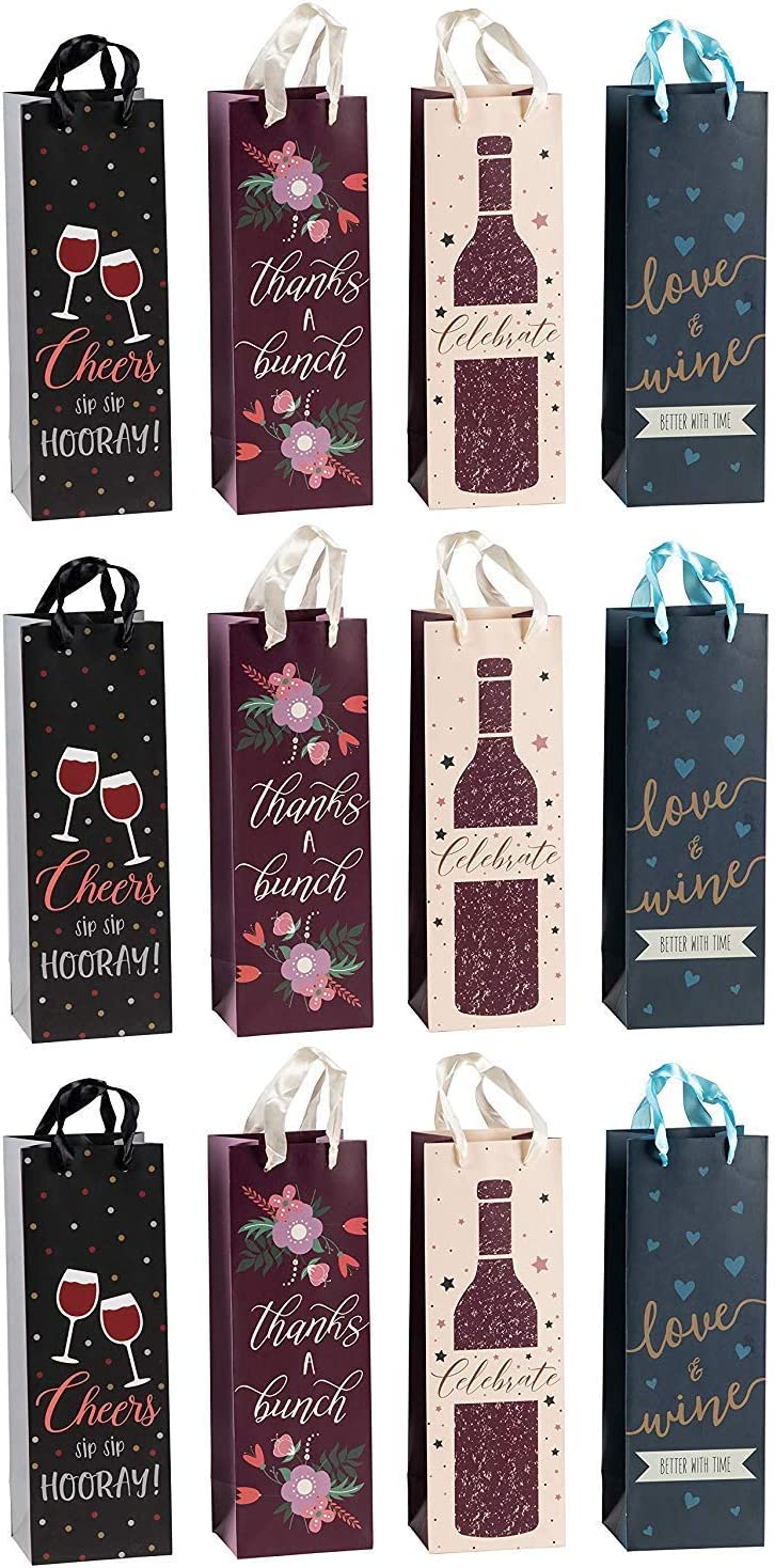 Bolsas para botellas Taunus 99-3005 10 unidades, dise/ño de botellas de vino