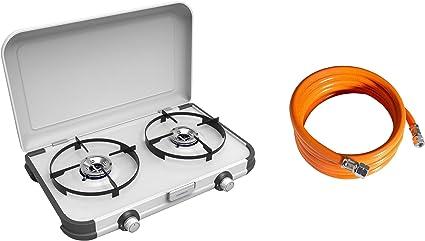 Campingaz - Hornillo de gas, cocina para camping (2 fuegos ...