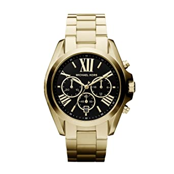 98c652f88 Image Unavailable. Image not available for. Color: Michael Kors MK5739  Ladies Blair Gold Plated Chronograph Watch