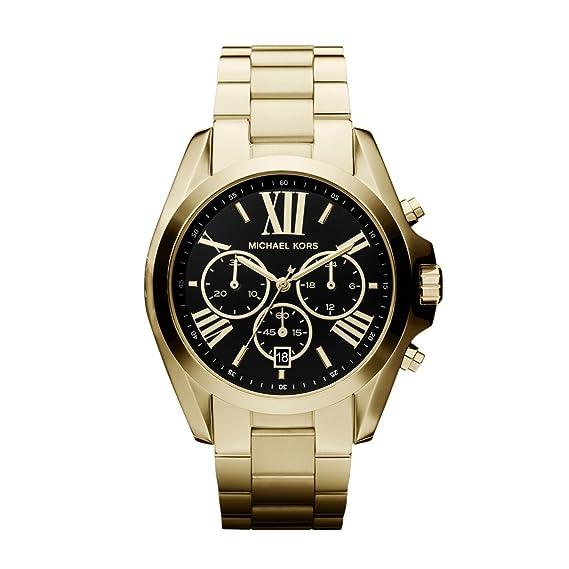 Michael Kors MK5739 Ladies Blair Gold Plated Chronograph Watch