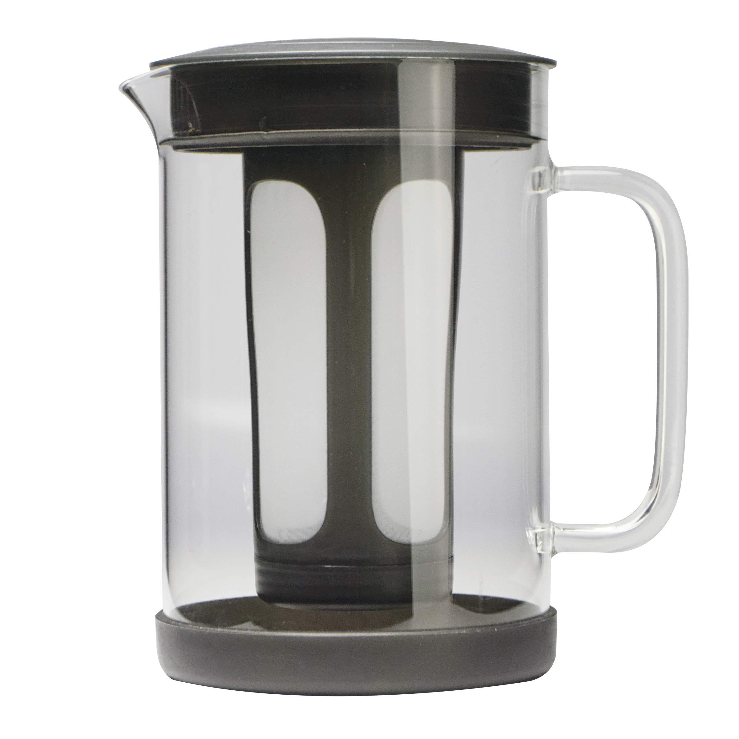 Primula PCBBK-5351 51 oz Black Pace Cold Brew Iced Coffee Maker by Primula
