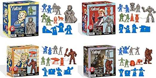 toynk Fallout Nanoforce Series 1 Army Builder Figure Box Sets - Set of 4: Amazon.es: Juguetes y juegos