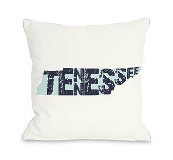 Amazon.com: bentin Home Decor Tennessee Estado tipo Throw ...